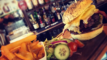 The Plough and Harrow Burger