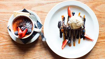 The Plough and Harrow Cake & Desserts